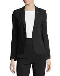 Zadig & Voltaire Vedy Single Button Crepe Blazer
