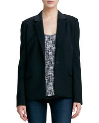 Vince Tailored Blazer Black