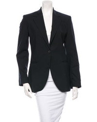 Fendi Wool Notch Lapel Blazer