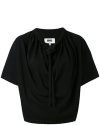 MM6 MAISON MARGIELA Drawstring Collar Blouse