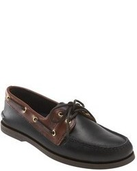 Black boat shoes original 522036