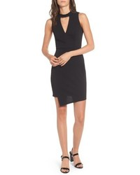 Soprano Asymmetrical Body Con Dress