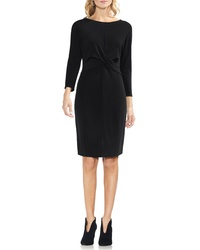 Vince Camuto Cross Front Body Con Dress