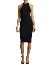 L'Agence Iman Ribbed Bodycon Dress