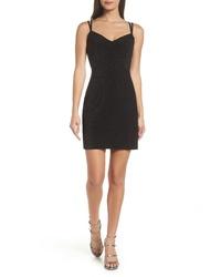 Morgan & Co. Py Glitter Knit Dress