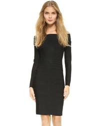 Signature essential long sleeve cocktail dress medium 718796
