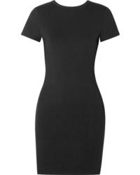 alexanderwang.t Stretch Cotton Jersey Mini Dress