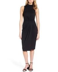Soprano Twist Front Body Con Dress