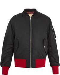 Calvin Klein 205w39nyc Contrast Trim Bomber Jacket