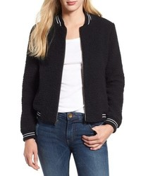 Lucky Brand Anlisa Fleece Bomber Jacket