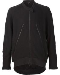 Ann Demeulemeester Front Zip Detail Bomber Jacket