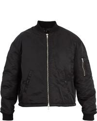 Raf Simons Any Way Outprint Nylon Bomber Jacket