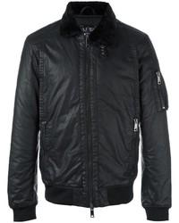 Armani Jeans Zipped Bomber Jacket