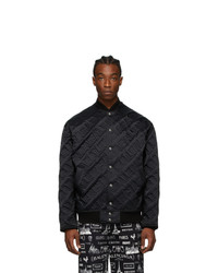 Balenciaga Black Bomber Jacket