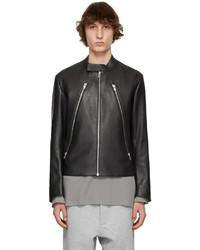 Maison Margiela Black Goatskin Sports Jacket