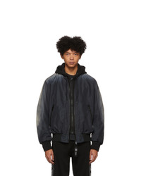 Diesel Black J Forest Bomber Jacket