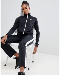 Nike Black Tracksuit Co Ord Set