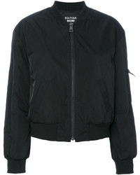 Moschino Boutique Zipped Bomber Jacket