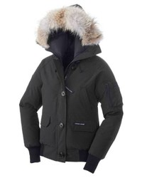 Canada Goose Chilliwack Regular Fit Down Bomber Jacket With Genuine Coyote Fur
