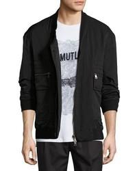 Helmut Lang Crossover Bomber Jacket Black