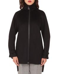 Akris Double Face Cashmere Coat