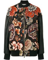Stella McCartney Floral Embroidered Bomber Jacket