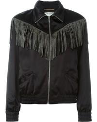 Saint Laurent Fringed Jacket