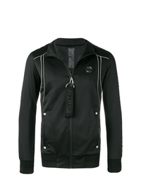 Philipp Plein Geometric Zipped Jacket