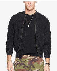 Denim & Supply Ralph Lauren Jersey Bomber Jacket