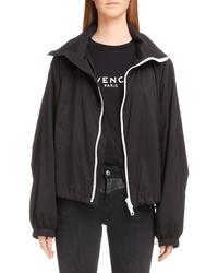Givenchy Logo Hood Track Jacket