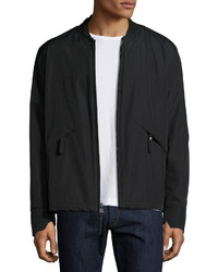 Andrew Marc Marc New York By Dalton Water Resistant Bomber Jacket Jet Black
