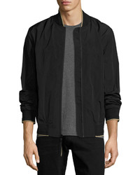 Andrew Marc Marc New York By Paratrooper Rain Bomber Jacket Black
