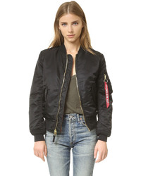 One by alpha industries bomber jacket medium 663154