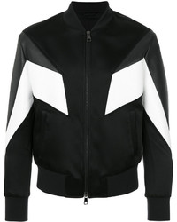 Panelled bomber jacket medium 4344999