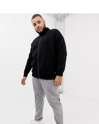 Tom Tailor Plus Track Jacket In Black