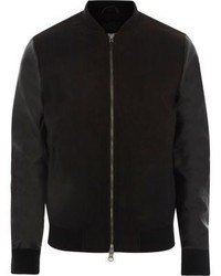 ONLY & SONS River Island Black Only And Sons Bomber Jacket