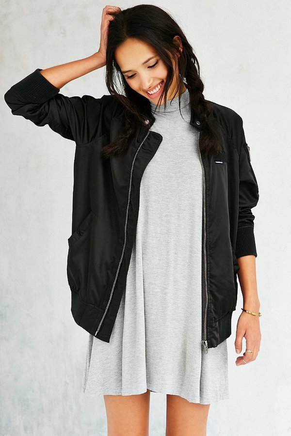 Members Only Satin Bomber Jacket   Where to buy & how to wear