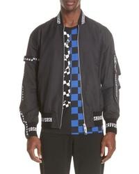 Versus Versace Strap Bomber Jacket