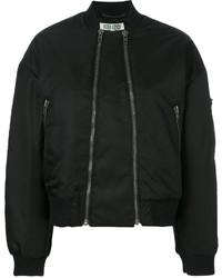 Two zip bomber jacket medium 5145729