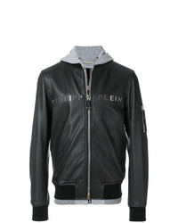 Philipp Plein Urban Hooded Bomber Jacket
