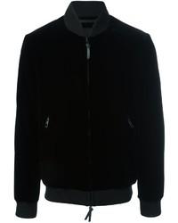 Giorgio Armani Zip Up Bomber Jacket