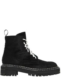 Proenza Schouler 50mm Army Pony Skin Boots