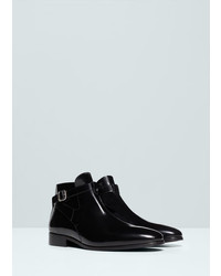 Mango Outlet Buckle Ankle Boots