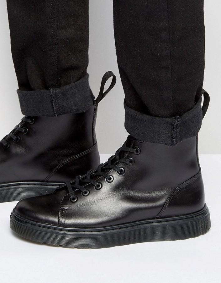 Dr. Martens Talib Pol. Dr. Martens Talib Pol. Schoenen Zwart Chaussures Noires p5mWeEz