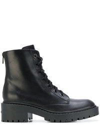 Kenzo Lace Up Combat Boots