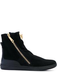 Versace Medusa Plaque Boots