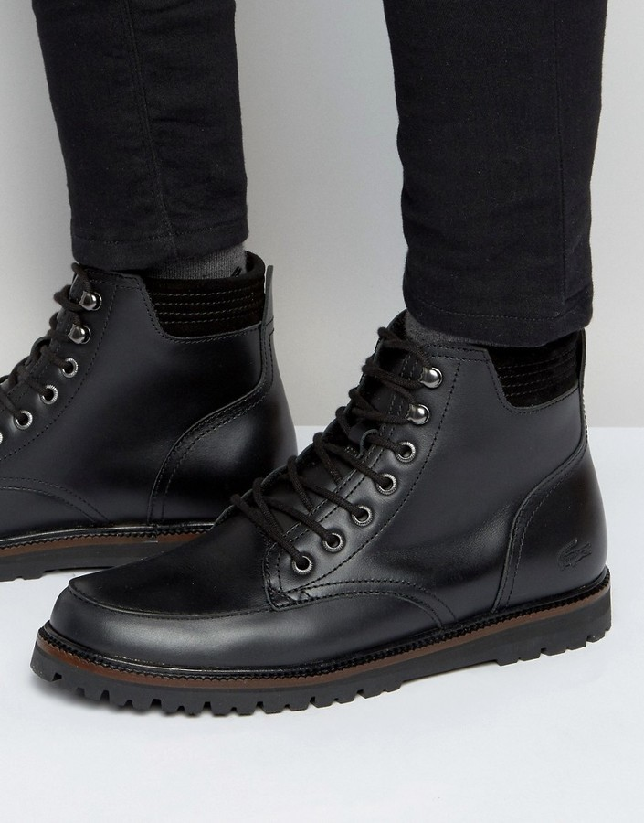 grossiste 29f54 8881b $211, Lacoste Montbard Boots