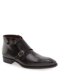 Rocca midi double monk strap boot medium 1247498