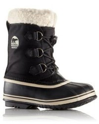 Sorel Toddlers Kids Yoot Pac Faux Fur Cuff Snow Boots