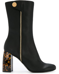 Stella McCartney Tortoiseshell Heel Boots
